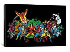Comics (Retro) - Book Character Lineup