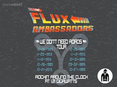 The Flux Ambassadors! Jersey Zip Hoodie