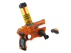 Cranking Cannon Disc Shooter