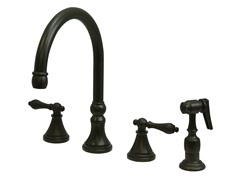 Kingston Brass Kitchen Faucet w/ Sprayer