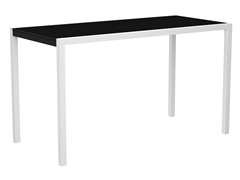 MOD Bar Table, 36-Inch - White/Black