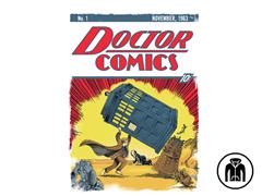 Dr Comics #1 Zip Hoodie