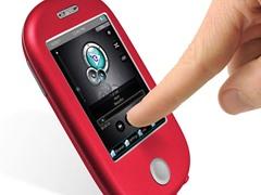 """8GB 3"""" Touch MP3 Video Player - Red"""