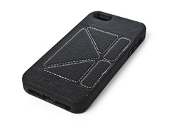Case w/Stand for iPhone 5 - Black/White