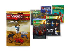LEGO Ninjago Graphic Novels Books