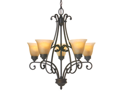 Priscilla 5-Light Chandelier