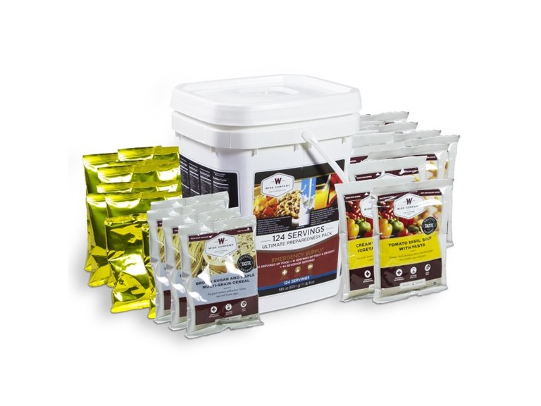 Wise Company 01-193 Ultimate Preparedness Pack-124 Servings