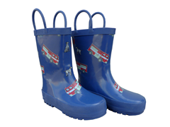 Fire Truck Rain Boots