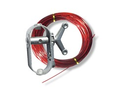 Winch and 100-Foot Cable