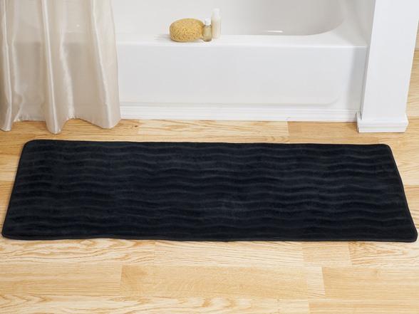 Memory Foam Extra Long Bath Rug 24x60 8 Colors