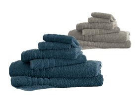 6-Piece Everyday Solid Towel Set