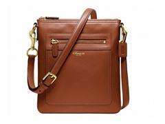 Legacy Leather Swingpack, Brass/Cognac