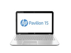 "Pavilion 15.6"" AMD Quad-Core Laptop - White"