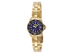 Invicta Pro Diver 18k Gold Plated