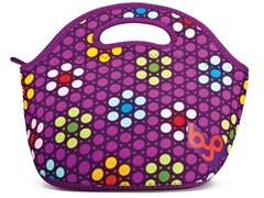 BuiltNY Rambler Lunch Bag-Sidewalk Purple