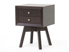 Warwick Brown Accent Table/Nightstand