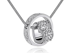 Swarovski Elements Halo Necklace