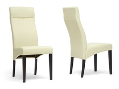 Deborah Dining Chair Set of 2 - Beige