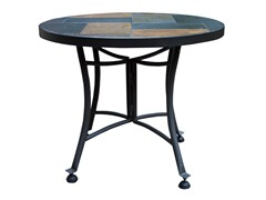 24-Inch Slate Accent Table