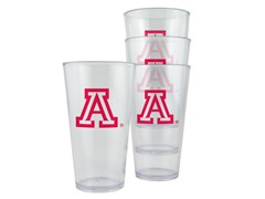 Arizona Plastic Pint Glasses 4-Pk