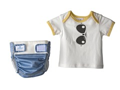 3-Pc Sunglasses Diaper Starter Kit