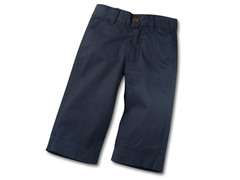 Infant Twill Navy Pants (3-6M)