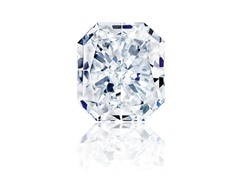Radiant Diamond 0.93 ct F SI1 with GIA report