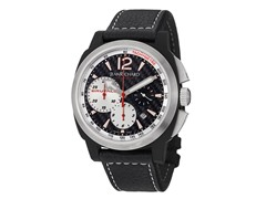Men's Chronoscope Chronograph Black Carbon
