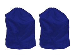 Set of 2 Laundry Bags - Blue
