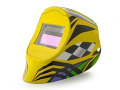 Viper Yellow VMX with 1000F Filter Welding Helmet