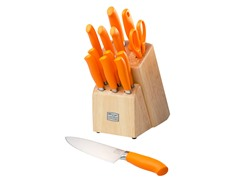 Kinzie Orange 14 Piece Block Set