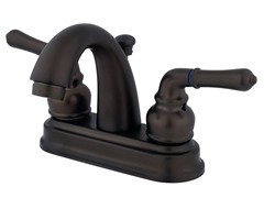 Naples Centerset Faucet, Oil Rubbed Bronze