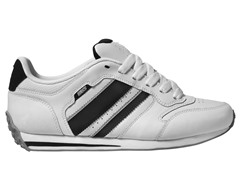 DVS Men's Premier, White Action Leather
