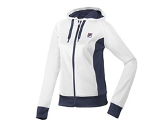 Fila Performance Hoody - White/Peacoat