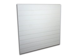 4' x 4' Garage Organizer, White