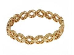 Relic RJ1504710 Gold Floret Stretch Bracelet