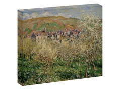 Monet Plum Trees in Blossom, 1879