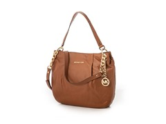 Michael Kors Bedford Large Shoulder Bag, Brown