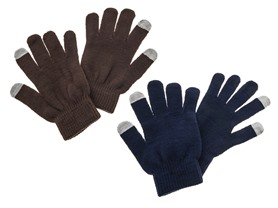 2 Pack Texting Gloves, Assorted