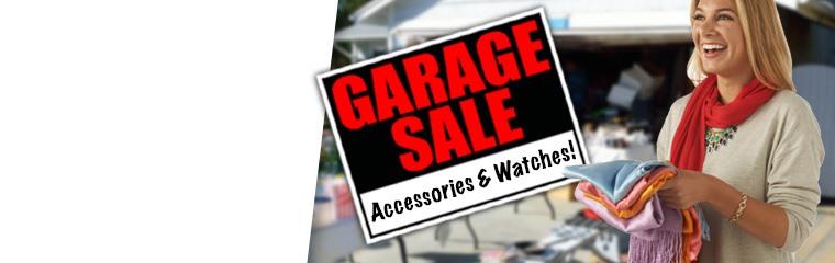 Accessories & Watches Garage Sale