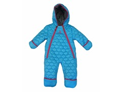 Turquoise Girls Quilted Pram (9M-4T)