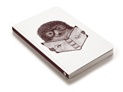 Hipster Hedgehog Journal
