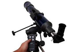 80mm EQ AR Drive Cassini Bresser Telescope