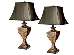 Sahara Safari Lamp Set of 2