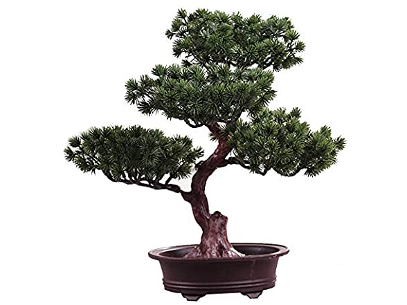 Artificial Bonsai Tree Potted Plant