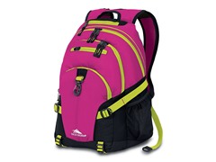 High Sierra Loop Backpack- Fuchsia Black