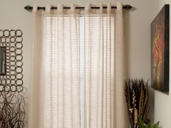 "95"" Mia Jacquard Grommet Panel-6 Colors"