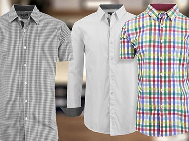 Dress Shirts of the Long and Short Sleeve Varieties
