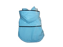 Light Blue Fashion Raincoat