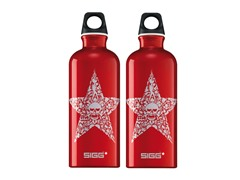 SIGG Star Power Red Aluminum Bottle 2pk